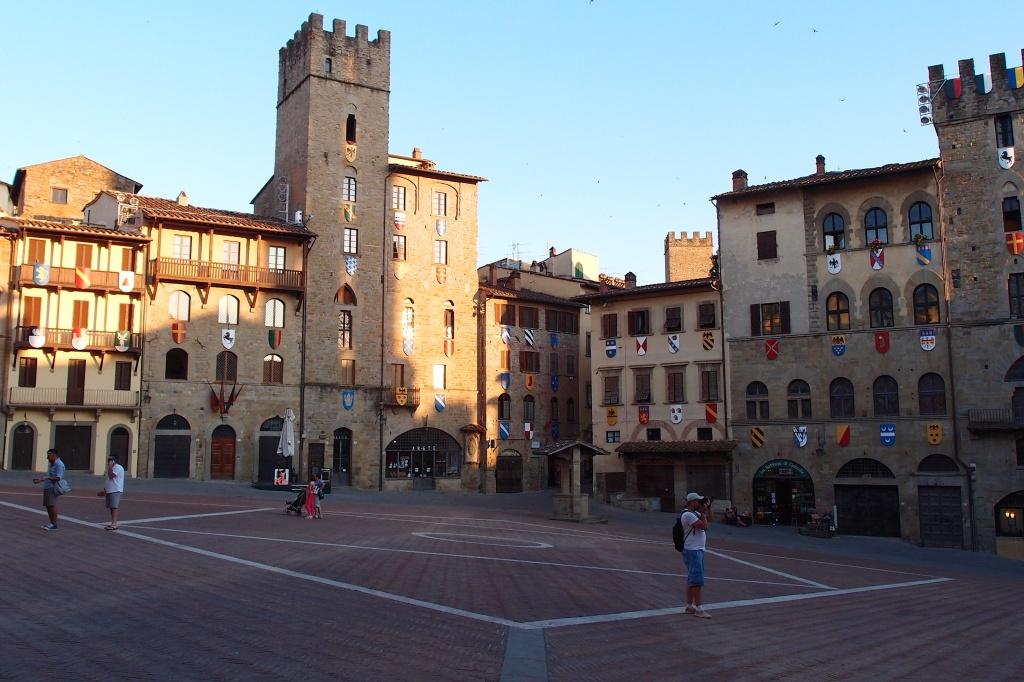 Plac główny w Arezzo