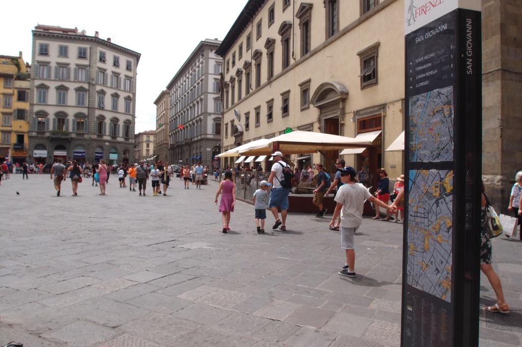 Spacer ulicami Florencji
