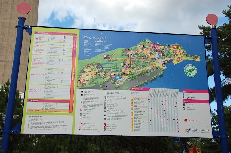 Mapa Sarkanniemi