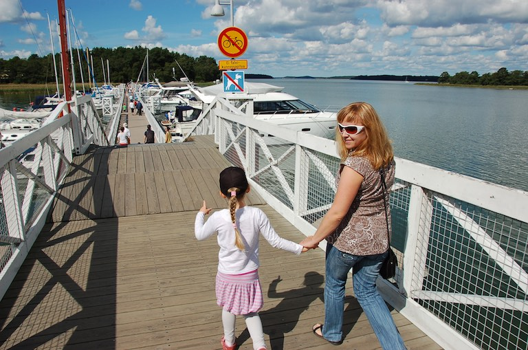 Most do Krainy Muminków