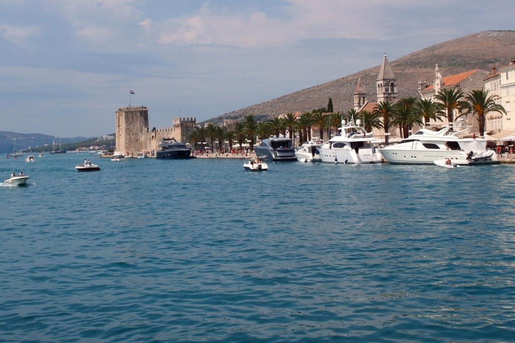 Trogir - widok na starą część