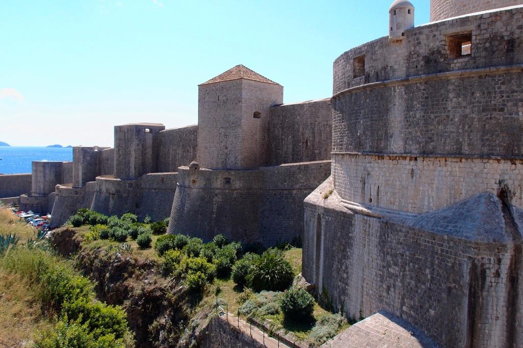 Mury obronne miasta.