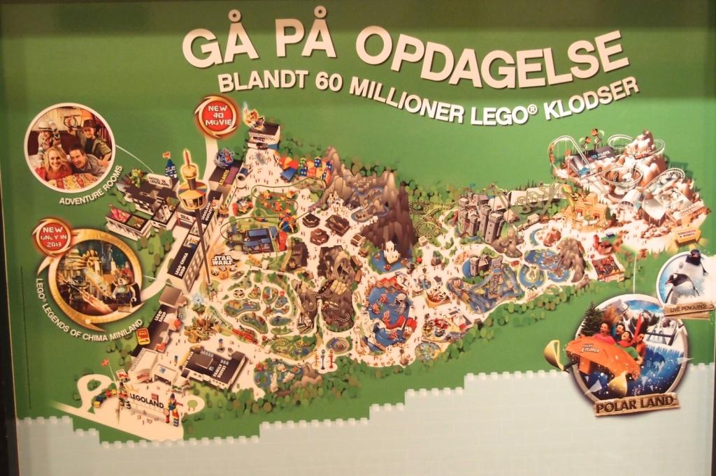 Mapa Legolandu